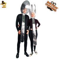 Halloween Adult Lover Spoon&Soup Tunic Costume Performance Funny Carnival Party Costumes