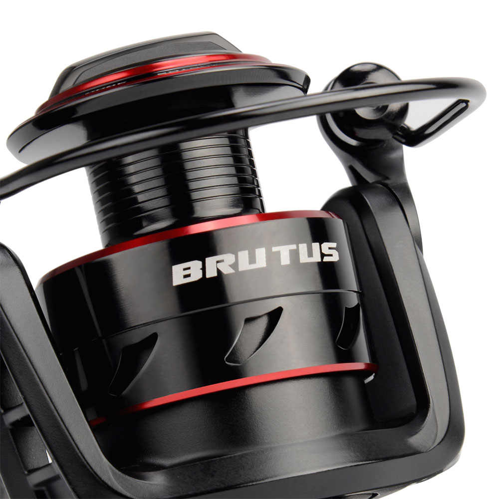 KastKing Brutus إطارات دراجة تسلق الجبال خفيفة الوزن الغزل الصيد بكرة 8 كجم ماكس السحب 5.0:1 نسبة والعتاد المياه العذبة الكارب الصيد لفائف