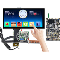 Wisecoco 12.3'' Touch Screen 1920x720 HSD123KPW1 A30 Stretched Bar LCD Display 850 Brightness Automotive Car Bus Andriod Board