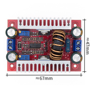 Image 5 - 10PCS DC DC 400W 15A Step up Boost Converter Constant Current Power Supply LED Driver 8.5 50V to 10 60V Voltage
