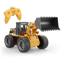 Truck Alloy Construction Vehicle Diecast Engineering Toys Truck Tractor High Simulation Boys Machine Model Electronic Kids Toys alloy engineering caterpillar tractor with compartment vehicle simulation model of agricultural toys children s birthday gift