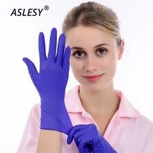 100 шт одноразовые перчатки из нитриловой резины латексные перчатки для дома, лабораторные перчатки для чистки пищевых продуктов, многофункциональные инструменты для дома