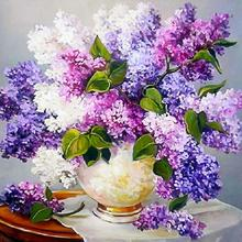 30x30cm Diamond Painting Lavender Half DIY Embroidery Cross Stitch Wall Decor Gift Crafts