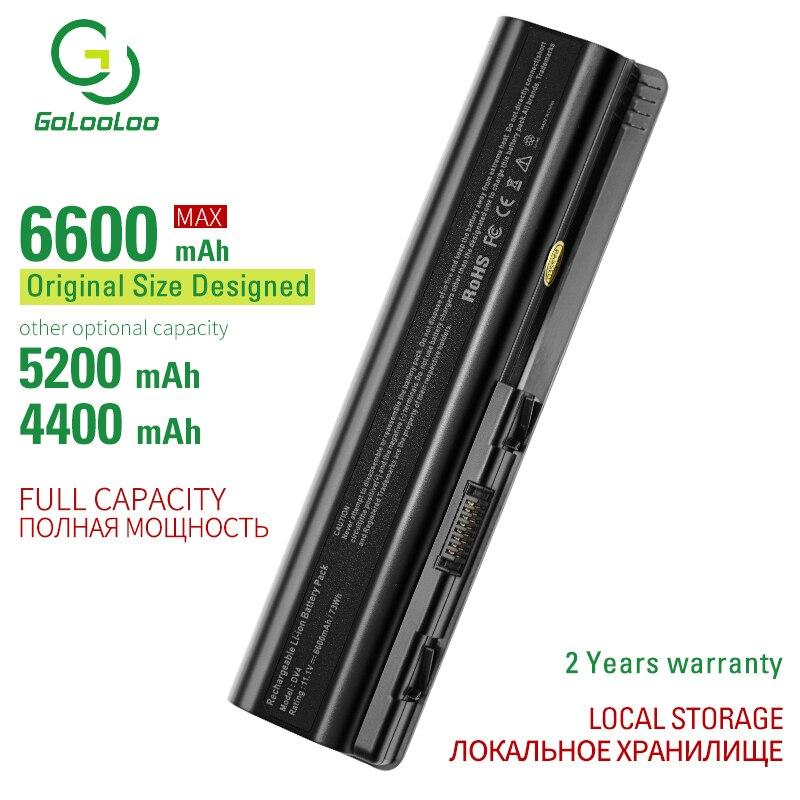 Golooloo 11.1v 6Cells DV4 Laptop Battery For Hp HSTNN-C51C C53C CB72 CB73 DB72 DB73 I58C IB72 IB79 LB72 LB73 N50C Q34C Q36C Q37C