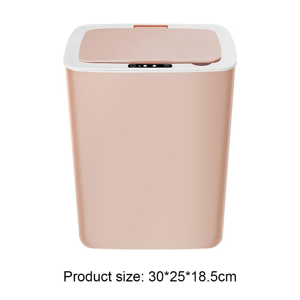 14L Usb Opladen Intelligente Inductie Prullenbak Huishoudelijke Infrarood Motion Sensor Automatische Touchless Afval Vuilnisbak 6