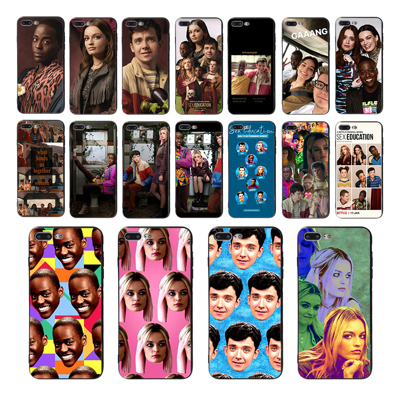 HOUSTMUST TV series <font><b>Sex</b></font> Education Soft phone cover for <font><b>iphone</b></font> 8 <font><b>7</b></font> 11 pro max XR X XS 6s 6 <font><b>plus</b></font> 5 se 5s 10 <font><b>case</b></font> TPU luxury shell image