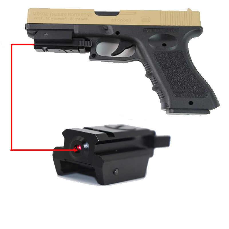 Compact Green Laser Dot Sight For Gun Rail Pistol 11//20mm Weaver Picatinny Mount