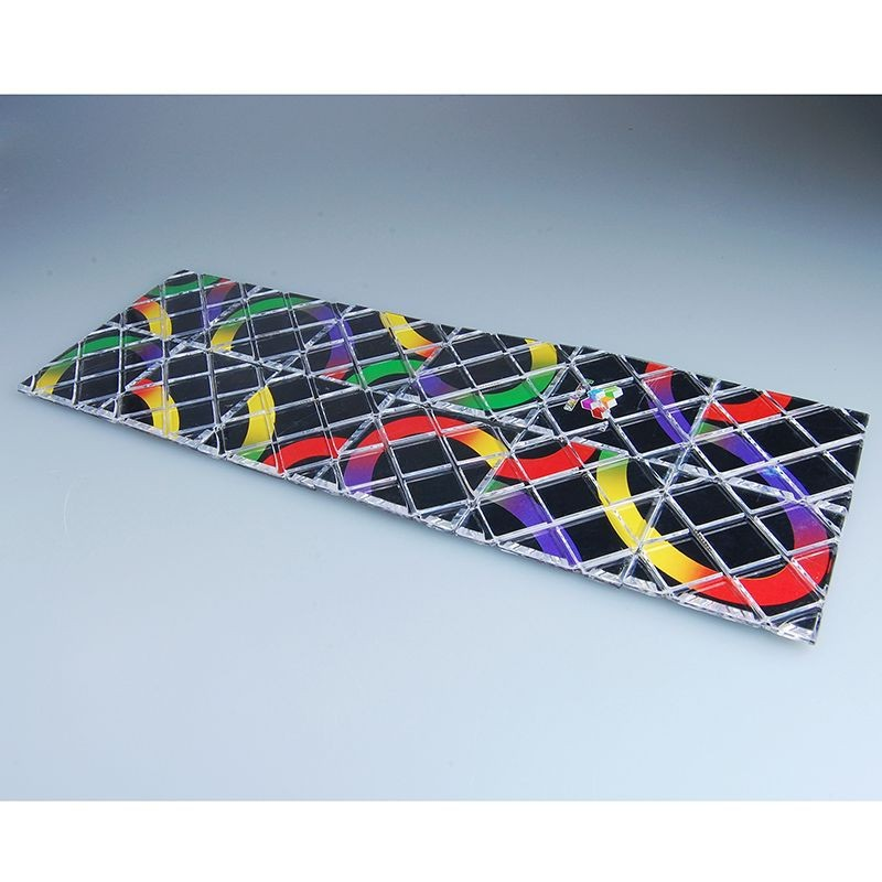 LingAo 12 Pcs Magic Cube LeadingStar Lingao Magic 12 Pieces 12-in-1 Sheet Magic IQ Test Magic Board Zk30