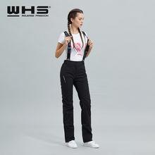 Женские лыжные брюки whs брендовые уличные теплые хлопковые