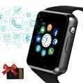 Nova moda relógio digital do esporte das mulheres dos homens relógios eletrônicos led cartão sim relógio de pulso mãos livres chamada pulseira à prova dwaterproof água banda