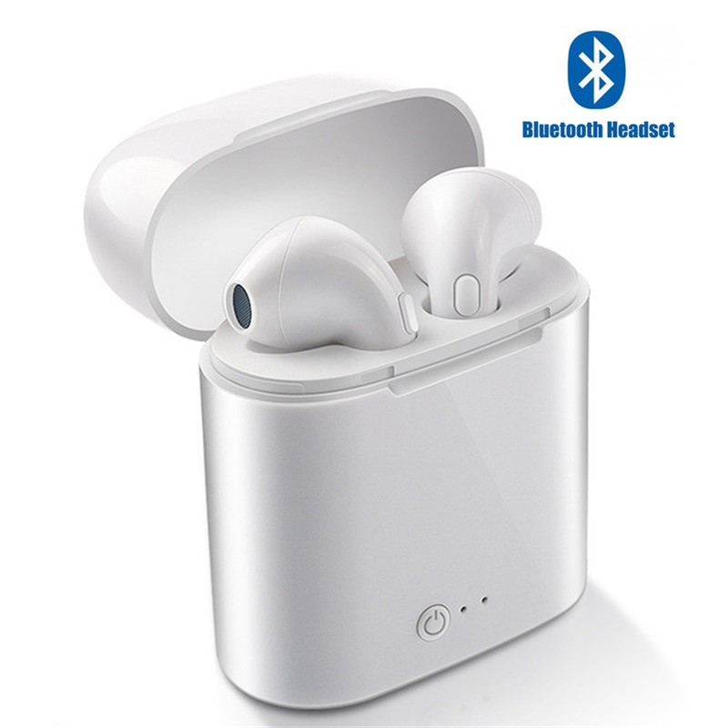 I7s TWS Charging Stereo Earbud Earphone Bluetooth 5.0 Headset With Charging Wireless Headset Mic For All Smart Phone Headphones