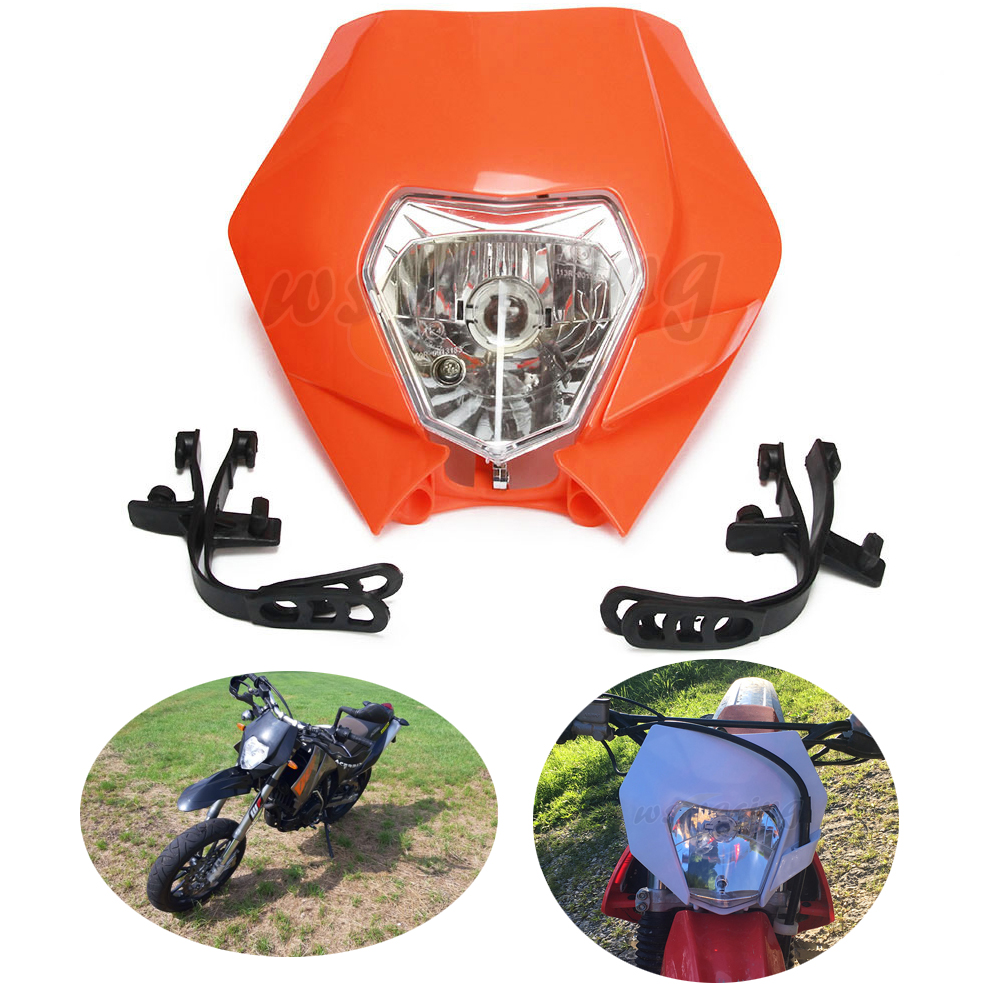 Motorcycle 2016 2017 2018 New Universal Headlights Headlamp For KTM EXC EXCF SXF SX XC XCW DUKE SMR Motocross Enduro Dirt Bike