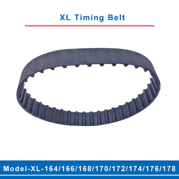 цена на XL timing belt model-164XL/166XL/168XL/170XL/172XL/174XL/176XL/178XL belt teeth pitch 5.08mm width 10/15mm for XL timing pulley