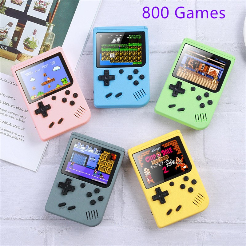 2020 NEW 800 IN 1 Retro Video Game Console Handheld Game Portable Pocket Game Console Mini Handheld Player for Kids Player Gift|Handheld Game Players| - AliExpress