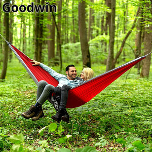 Image 5 - Promotion 260 * 140 cm parachute fabric hammock with a strong load bearing Accessories need to be purchased separately