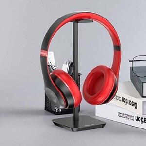 Image 3 - Uchwyt na słuchawki ze stopu aluminium przenośny metalowy zestaw słuchawkowy uchwyt stojak półka ekspozycyjna na akcesoria do słuchawek