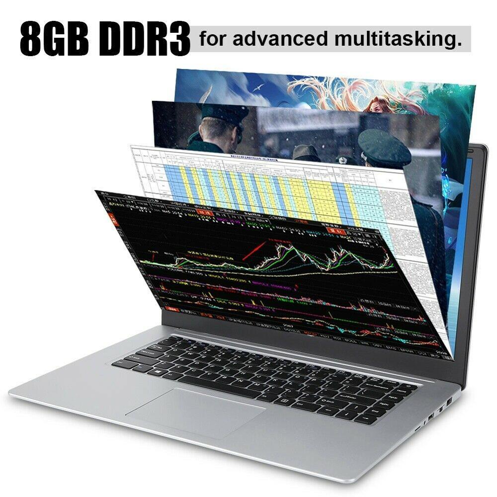 Laptop 15.6 Inch Win 10 I7-7700HQ Quad Core 2.8GHz 16GB RAM 256GB SSD + 1TB