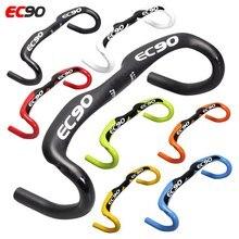 2019 EC90 Новый полностью углеродное волокно руль для шоссейного велосипеда ручка для гоночного велосипеда 31,8*400 420 440 мм 7 разных цветов