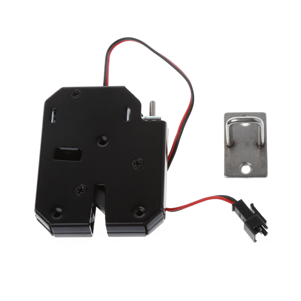 150KG/330lb Electric Magnetic Lock Door Access Control DC 12V Cabinet Drawer