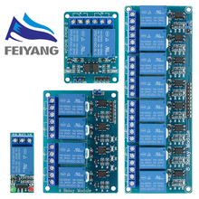 5v 1 2 4 8 channel relay module with optocoupler. Relay Output 1 2 4 8 way relay module for arduino
