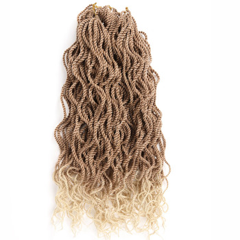 Senegalese Twist Hair crochet 22inch 24strands freetress wavy curly Crochet braids eleni bizas learning senegalese sabar