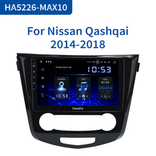 "Dasaita 10.2"" IPS Touch Screen Car Radio 1 Din  Android 10.0 for Nissan Qashqai 2014 2015 HDMI Car Stereo Bluetooth 1024*600"