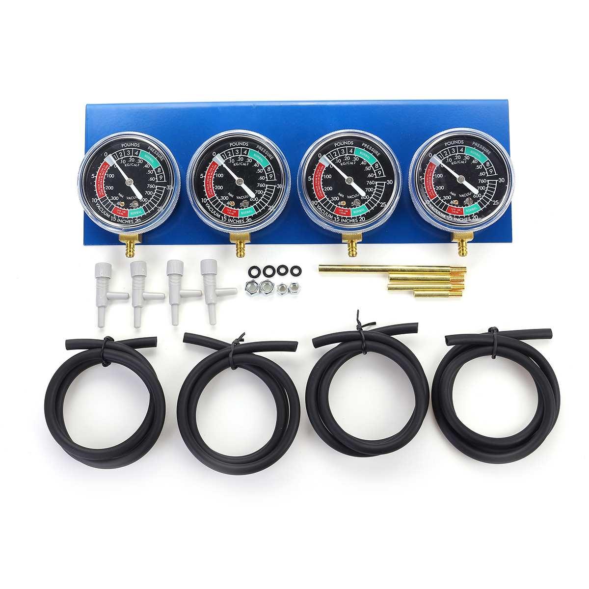 Carburetor Balancer-Synchronizer-Tool Vacuum-Gauge Motorcycle Suzuki/harley for W/Hose-Kit