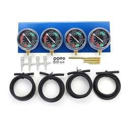 2pcs/4Pcs Motorcycle Carburetor Vacuum Gauge Balancer Synchronizer Tool W/Hose Kit For Honda/Yamaha/Suzuki/Harley