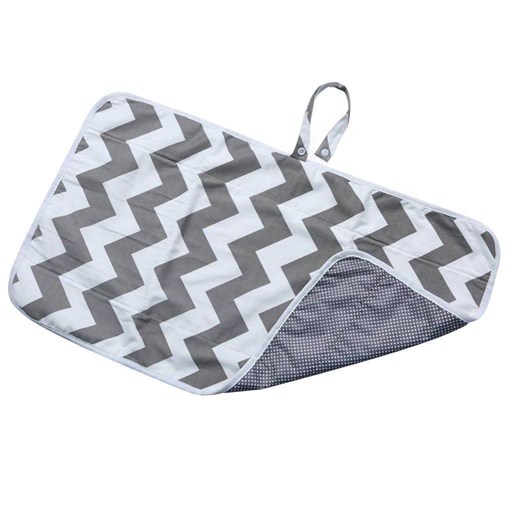 Newborns Foldable Waterproof Baby Diaper Changing Mat Portable Changing Pad  Travel Nappy Change Floor Play Pad Baby Care