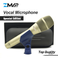 Top Quality Version Special Edition KSM9 Professional Live Vocals KSM Dynamic Wired Microphone Karaoke Supercardioid Podcast Mic