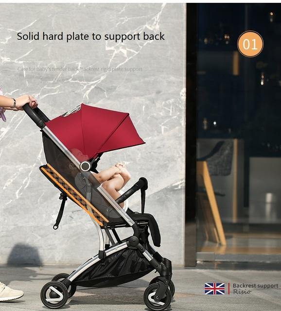 Risio foldable light weight baby buggy,land on plane baby stroller pushchair,pram,carseat newborn basket bassinet travel system