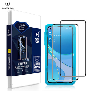 Image 1 - SmartDevil Diamonds Screen Protector for OnePlus 8T Explosion proof HD Full Cover glass For OnePlus 7 Anti fingerprint Anti drop
