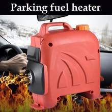 12V 5KW Parking Heater Car Compact Structure Auxiliary Heater With Remote Control LCD Display Switch Diesels Heater Webasto