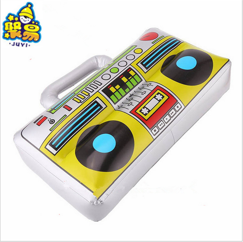 New Supply Inflatable Toy PVC Inflatable Toys Musical Radio-Style Stage Props Factory Wholesale