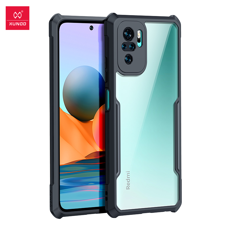 For Redmi Note 10 Pro Case, Xundd Airbag Case, For Redmi Note10 Pro Note 10 10S Case, Transparent Bumper Cover Shockproof Shell