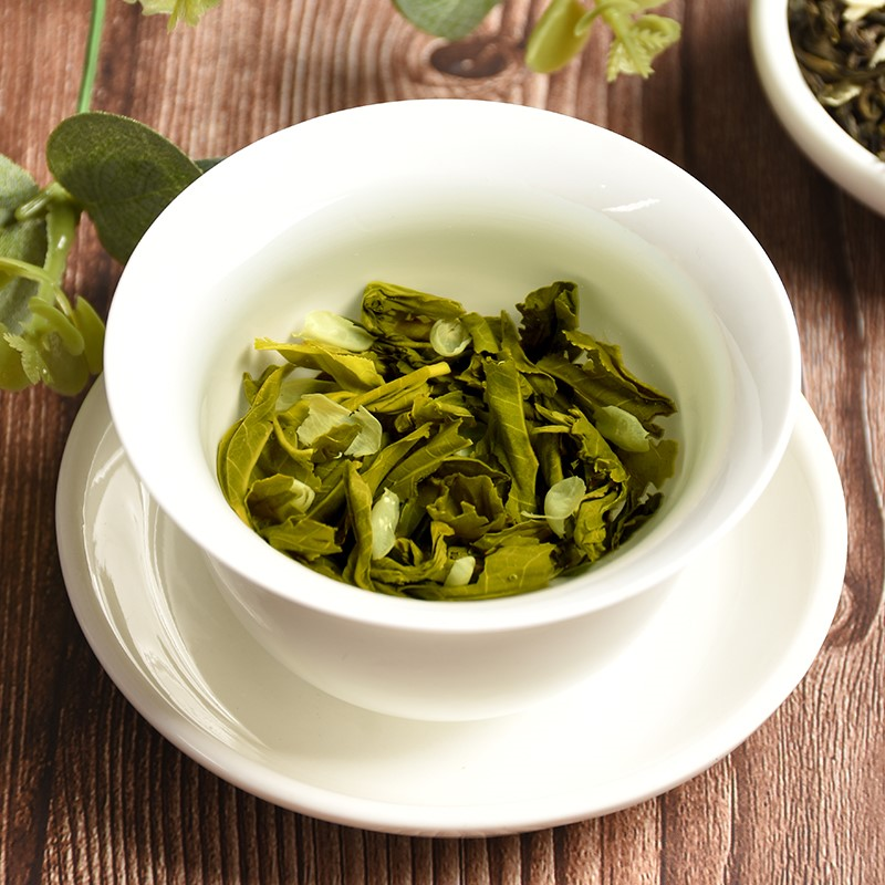 2020 China Jasmine Flower Green Tea Real Organic New Early Spring Jasmine Tea for Weight Loss Green Food Health Care 4