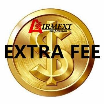 Taxa extra/taxa de envio/itens adicionados/presente/itens de compensação