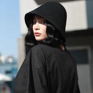 Image 2 - [Xtao] 와일드 조커 패션 새로운 여성 양동이 모자 여성 솔리드 컬러 캐주얼 복원 고대의 방법 Campaniform 모자 ZLL3001