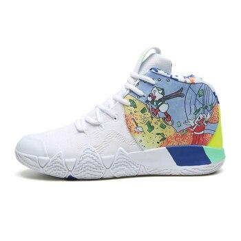 Zapatos de baloncesto blancos para Hombre, Zapatillas deportivas acolchadas de alta calidad,...