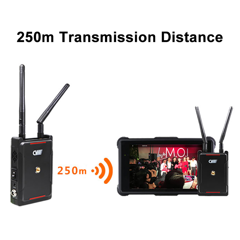 Image 3 - CVW SWIFT 800 800ft Wireless Video Transmission System HDMI HD image Wireless Transmitter Receiver Support smartphone MonitorPhoto Studio Accessories   -