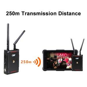 Image 5 - Cvw swift 800 800ft sem fio sistema de transmissão vídeo hdmi imagem hd transmissor sem fio receptor suporte monitor smartphone