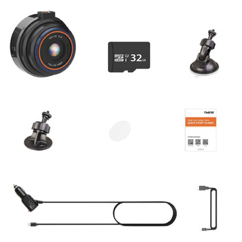 ThiEYE Safeel Zero+ Car Dvr Dash Camera Hd 1080P 170 Wide Angle with Wifi G-Sensor Parking Mode Car Camera Recorder