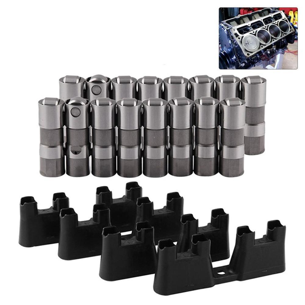 Automotive Hoge Prestaties Klepstoter LS7 LS2 16 Prestaties Hydraulische Roller Lifters & 4 Gidsen 12499225 HL124 - 5