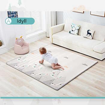 200cm * 180cm * 1cm/2cm Baby Spielen Matte Klapp XPE Krabbeln Pad Hause Erhalten Im freien Klapp wasserdichte Puzzle Spiel Playmat