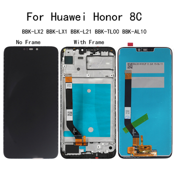 "6.26"" AAA For Huawei Honor 8C LCD Display Touch Screen digitizer Assembly BBK-LX2 BBK-LX1 BBK-L21 BBK-TL00 BBK-AL10 replacement стайлер bbk bhc1010"