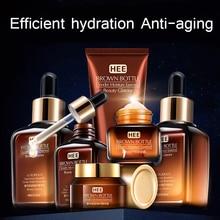 Hautpflege Set Anti-Aging Entfernen Dark Circl Retinol Serum Machen Up Wasser Braun Flasche Gesichts Pflege Produkte Anzug sixpiece