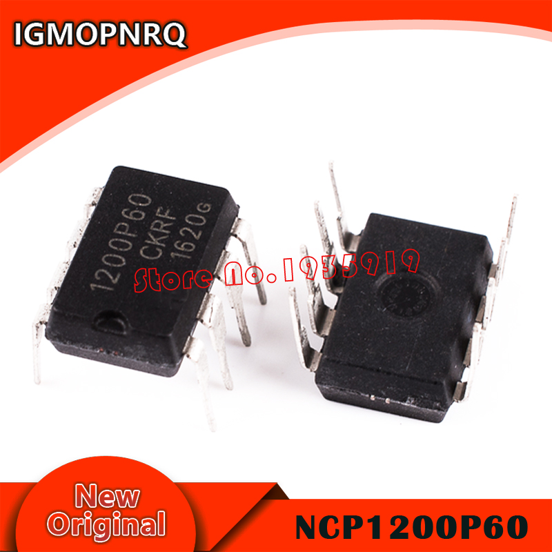10pcs NCP1200P60 1200P60 NCP1200 DIP-8 New Original