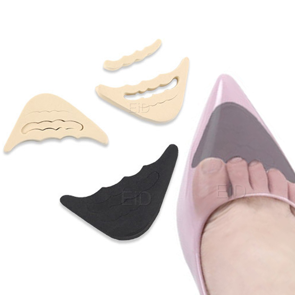 Sponge High Heel Shoe Pads For Relieve Pain Ballet Dancing Foot Tip Protector Breathable Hole Sole Shock Absorbing Inserts Women