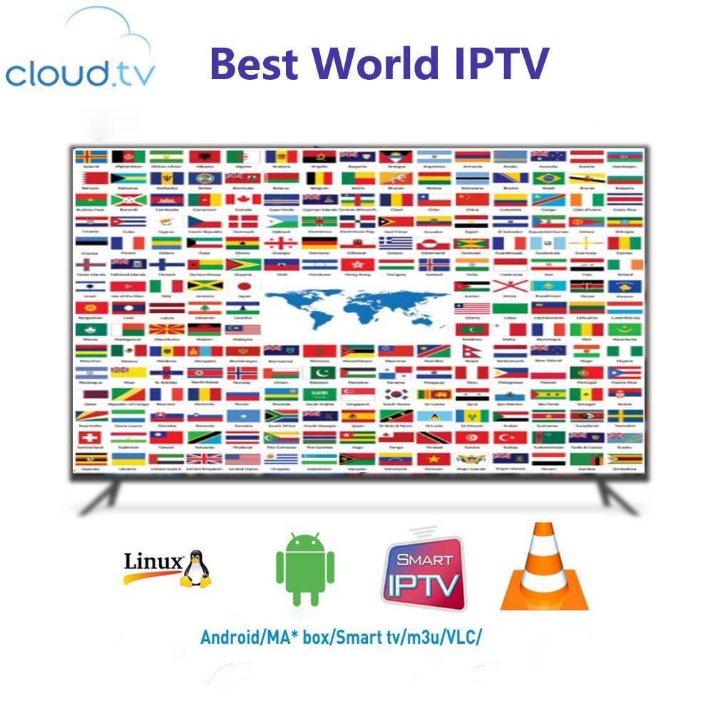 Europe IPTV Subscription UK German Italy Spain New Zealand Arabic Dutch Sweden Poland Portugal Smart TV IPTV M3U