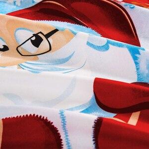 Image 4 - Yimeis Weihnachten Bettwäsche Sets 3 stücke Bettdecken Und Bettwäsche Sets Tröster Bettwäsche Doppelbett BE45201